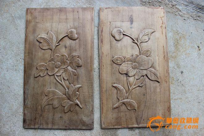 金丝楠木浮雕~雕花板~金丝楠老家具面板