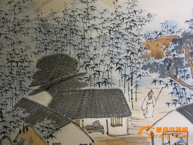 现代画家 陈半丁山水风景人物画
