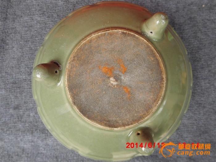 八卦龙泉香炉尺寸25*15cm这个炉口沿外折