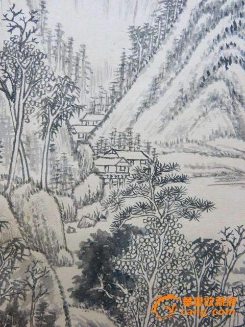 黄君璧作品 风景山水画