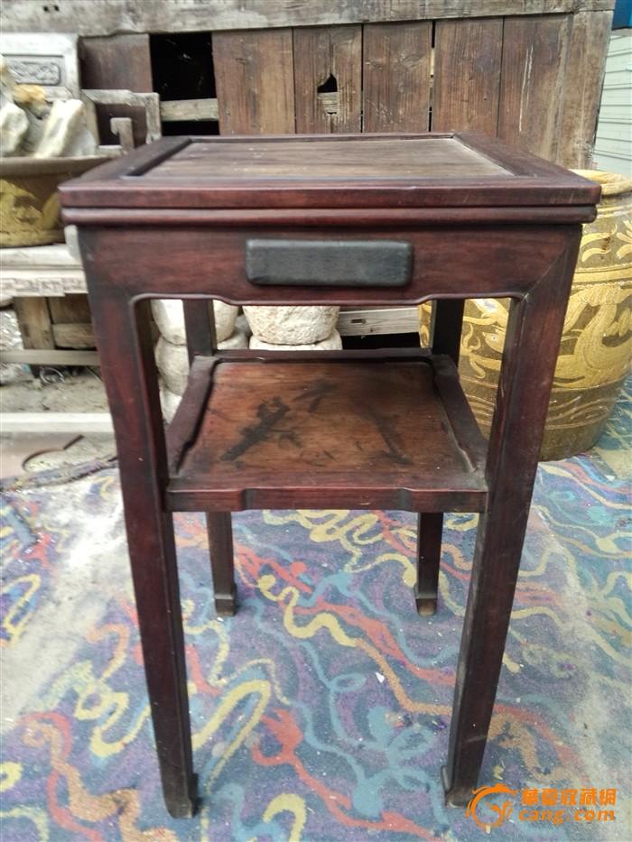 红木桌子背景素材