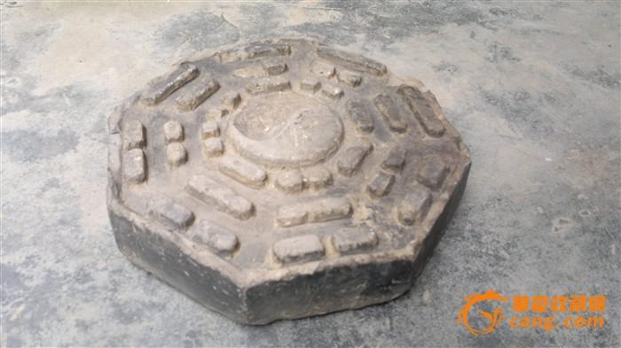 """苏州园林砖雕""""八卦图"""""""