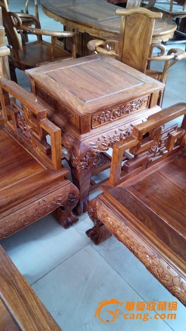 非洲花梨木沙发五件套