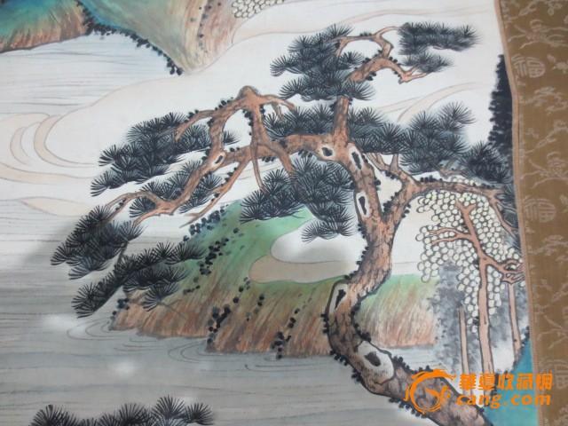 山水风景人物画图5