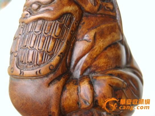 木雕关公像摆件图5