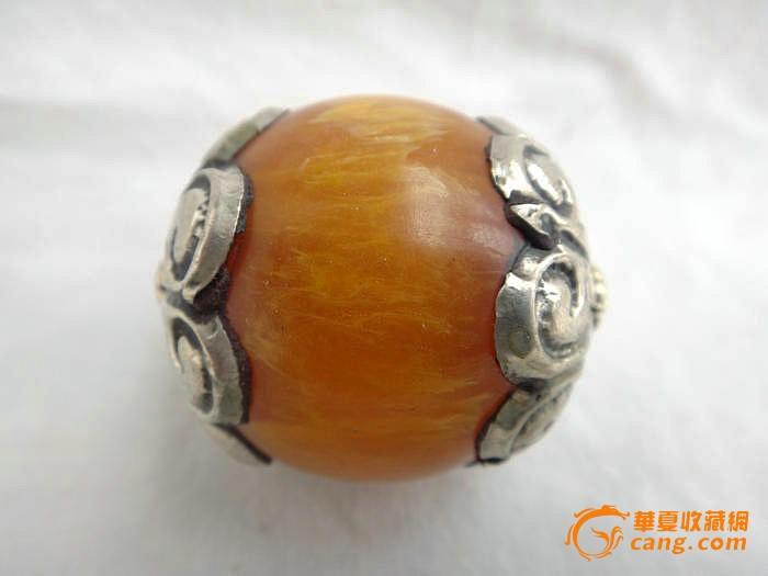 金珠子手编戒指图片