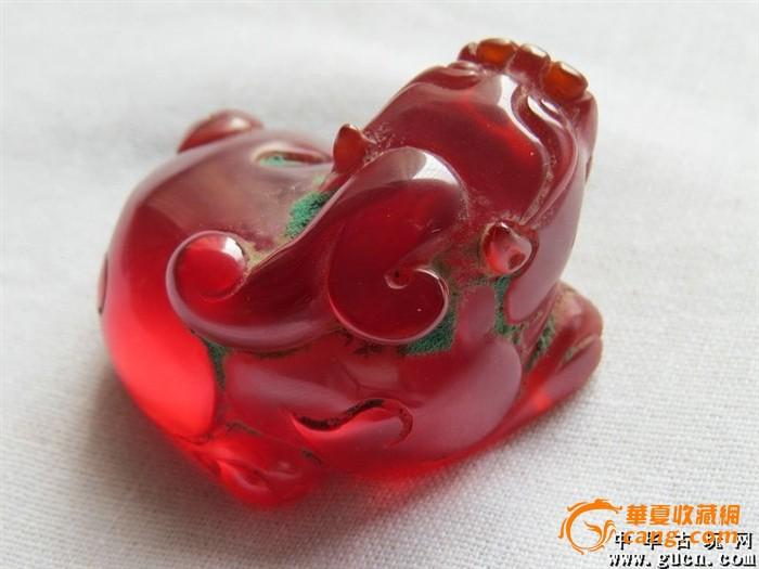 红宝石貔貅_红宝石貔貅价格