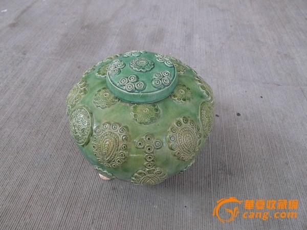 古玩 汉 绿釉瓷器一件 古玩 汉 绿釉瓷图片