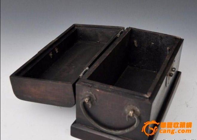 檀木木箱子