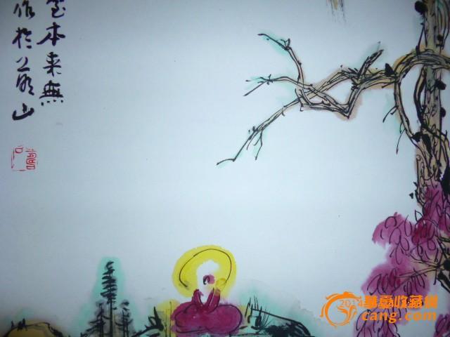 一僧一树,包手绘图6