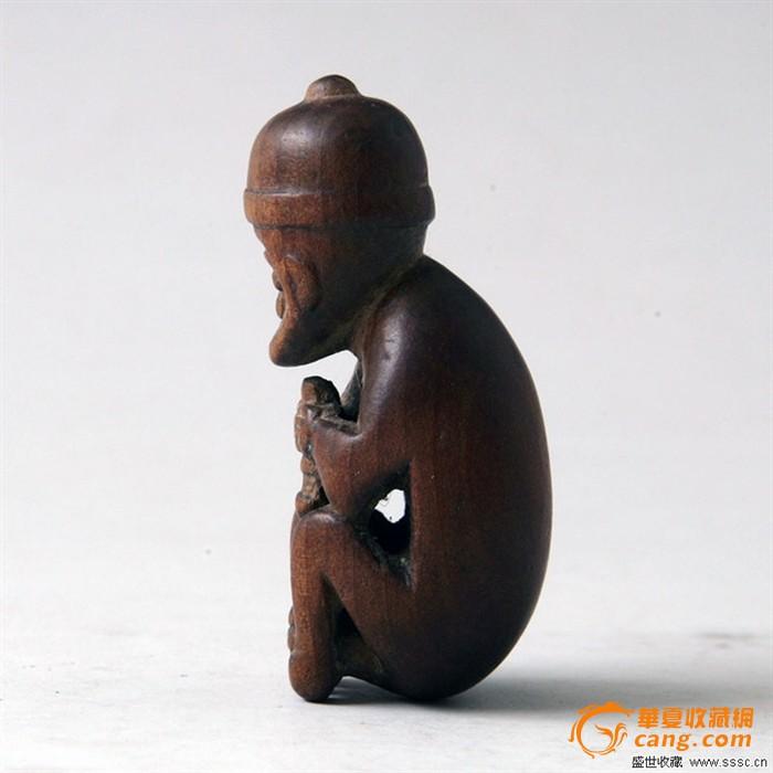 美品 黄杨木雕小猴子