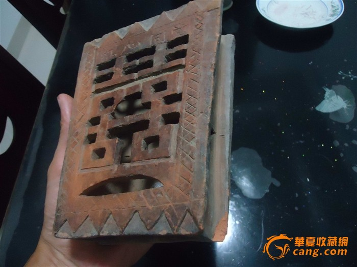 文革陶制筷子筒