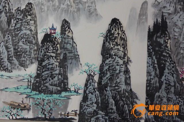 白雪石桂林山水册页