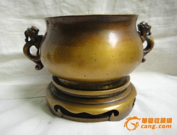 清代宣字款铜香炉