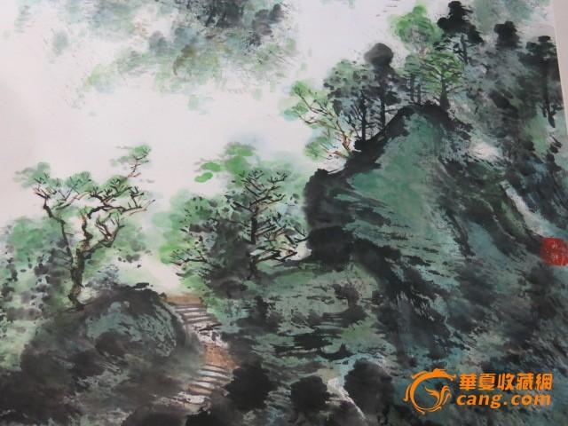 杨彦山水风景画图5