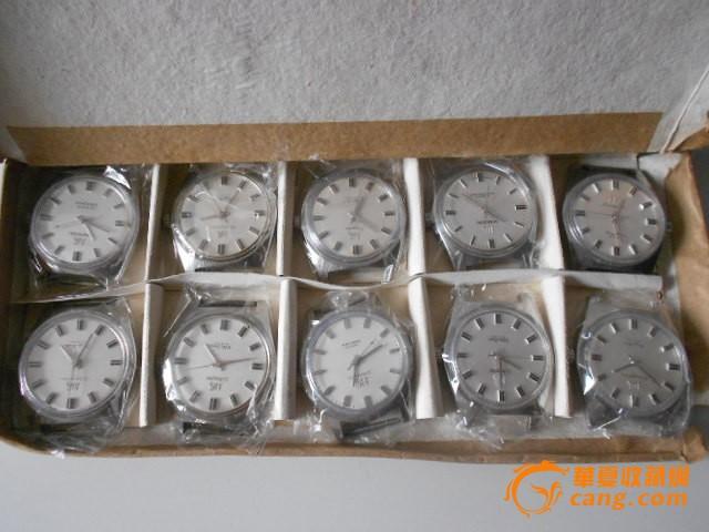70年代大上海牌老手表