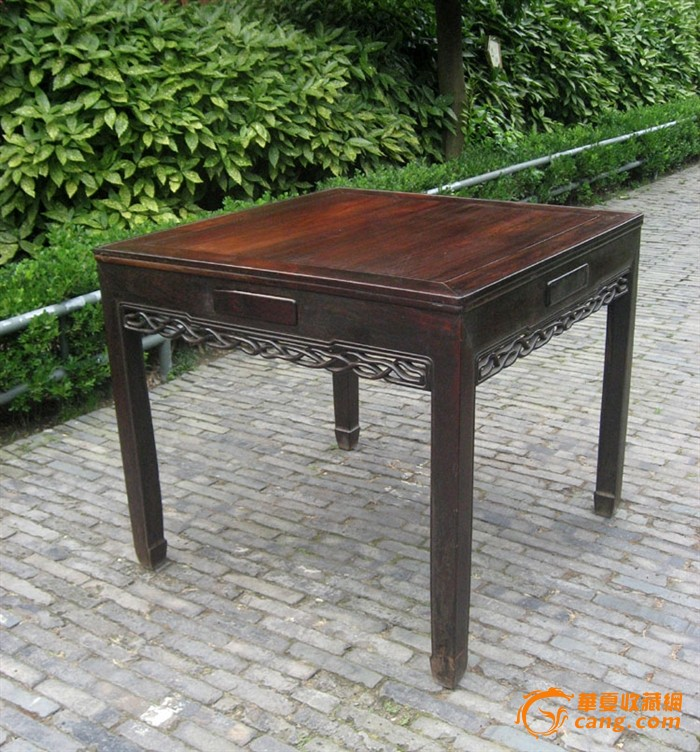 苏工·老红木棋牌桌