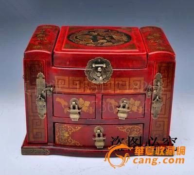 木制首饰盒,梳妆台
