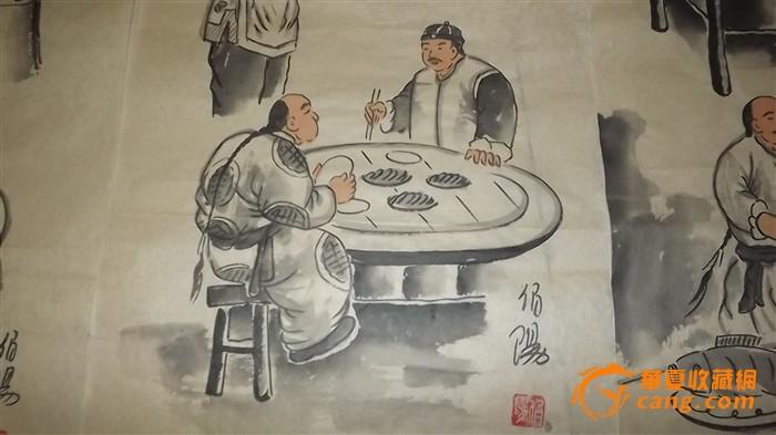 一套老北京小吃【纯手绘伯阳】