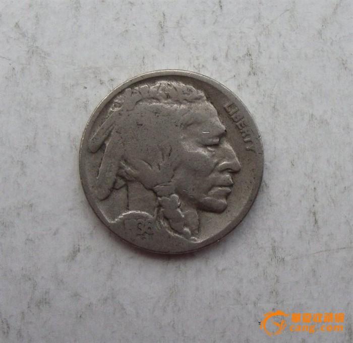 少见美国1936年野牛币 少见美国1936年野牛