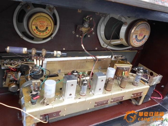 文革时期生产的飞乐牌272型电子管收音机