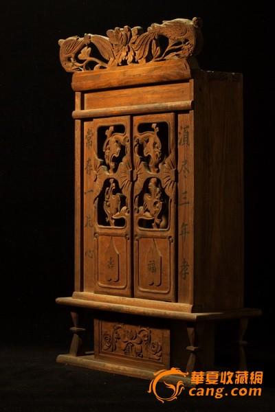 木工手工制作神龛