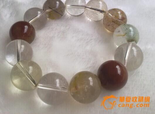 纯天然发丝水晶手链
