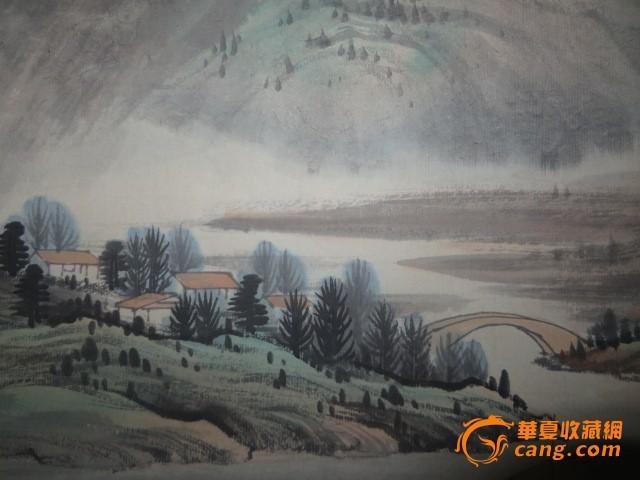 张大千山水画图片