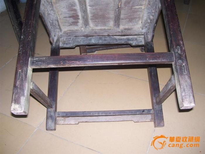 老红木酸枝清代圆角边灯挂椅单个家具收藏