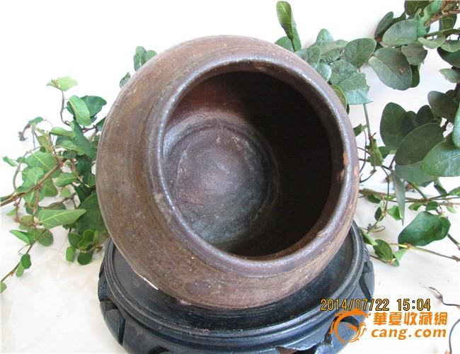 螺旋 老窑/全品褐红釉老窑瓷螺旋罐图3
