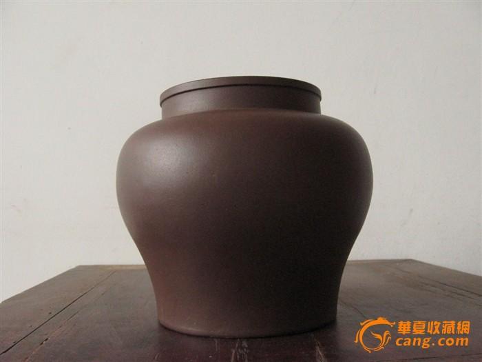 来一只名家王南林紫砂茶叶罐图片