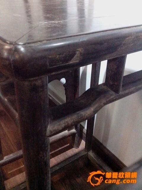 木桌椅子手绘图