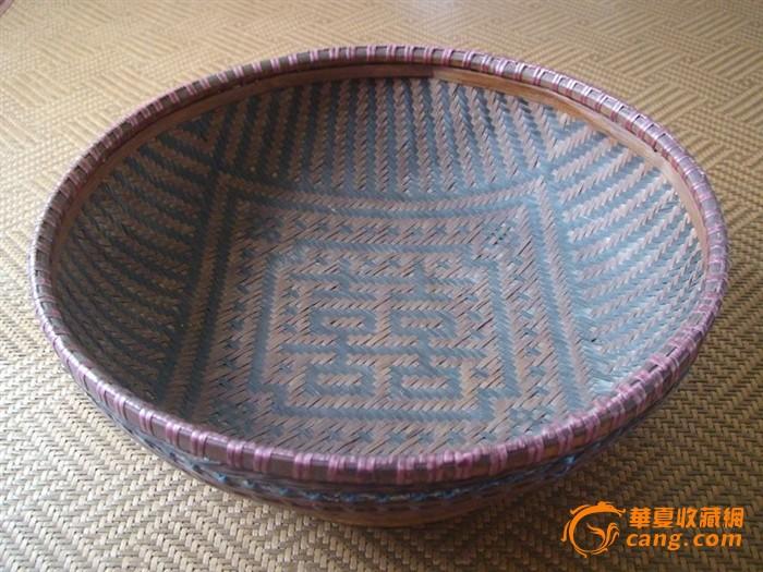 竹编产品设计手绘图
