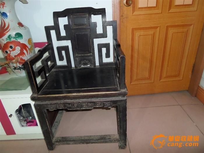 老家具 太师椅图3
