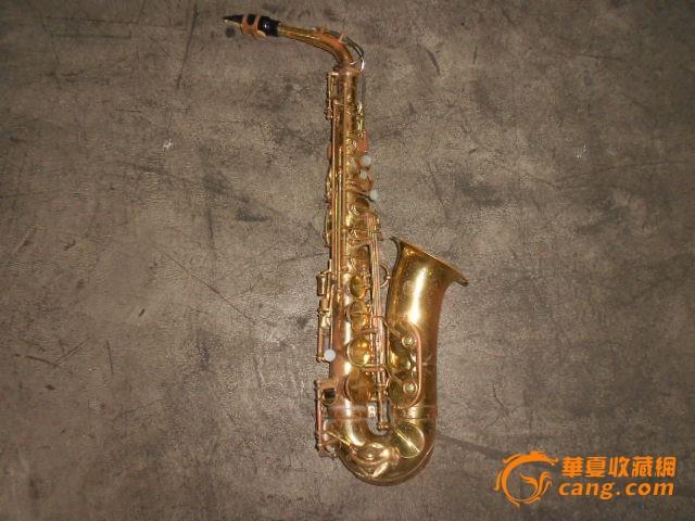 老萨克斯乐器