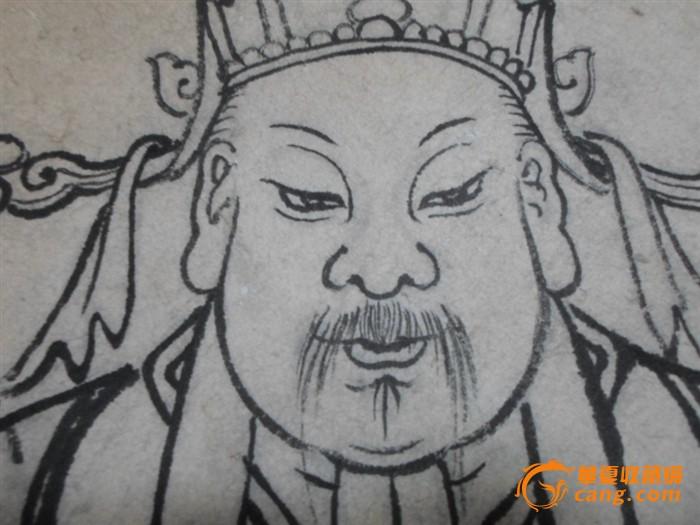 清或民国:手绘人物