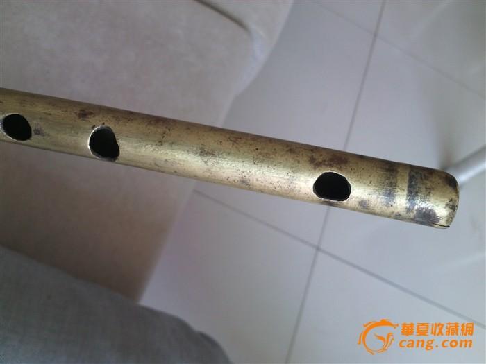绝对 笛子 清代 一个/绝对包老的清代铜笛子一个....图2