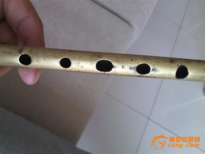 绝对 笛子 清代 一个/绝对包老的清代铜笛子一个....图3