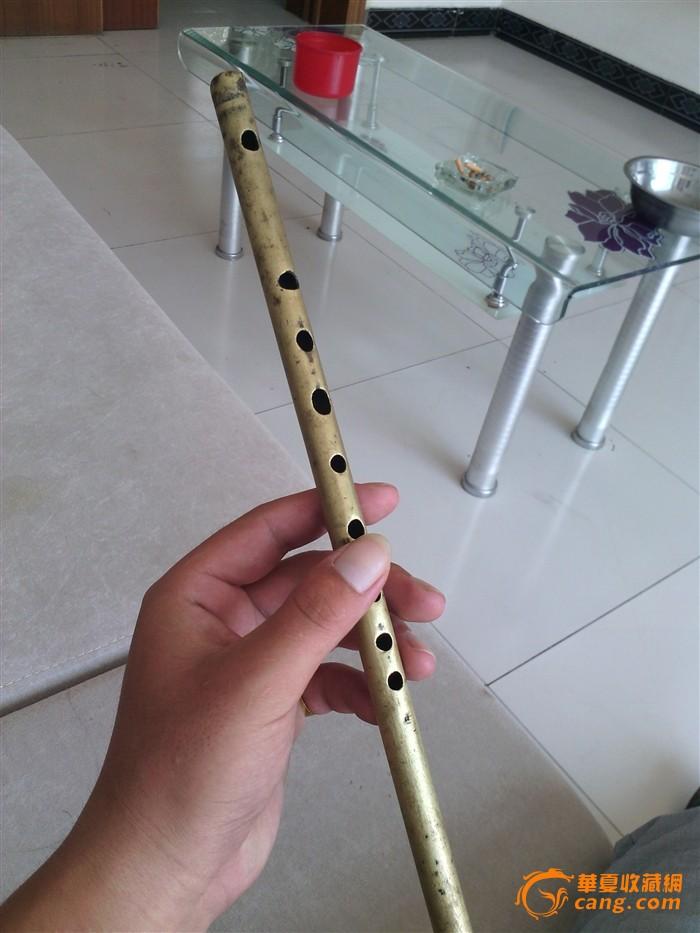 绝对 笛子 清代 一个/绝对包老的清代铜笛子一个....图9