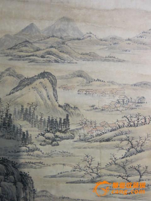 清代画家王翚 风景山水画
