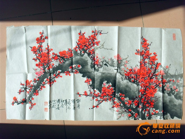王成喜梅花图图3