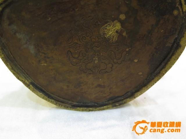 菩萨 鎏金/鎏金四臂菩萨像图8