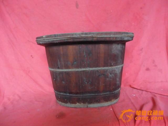 老式木盆,无脚型的,少,重,120包邮 02