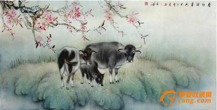 国画 > 杜陈静·四尺工笔动物画