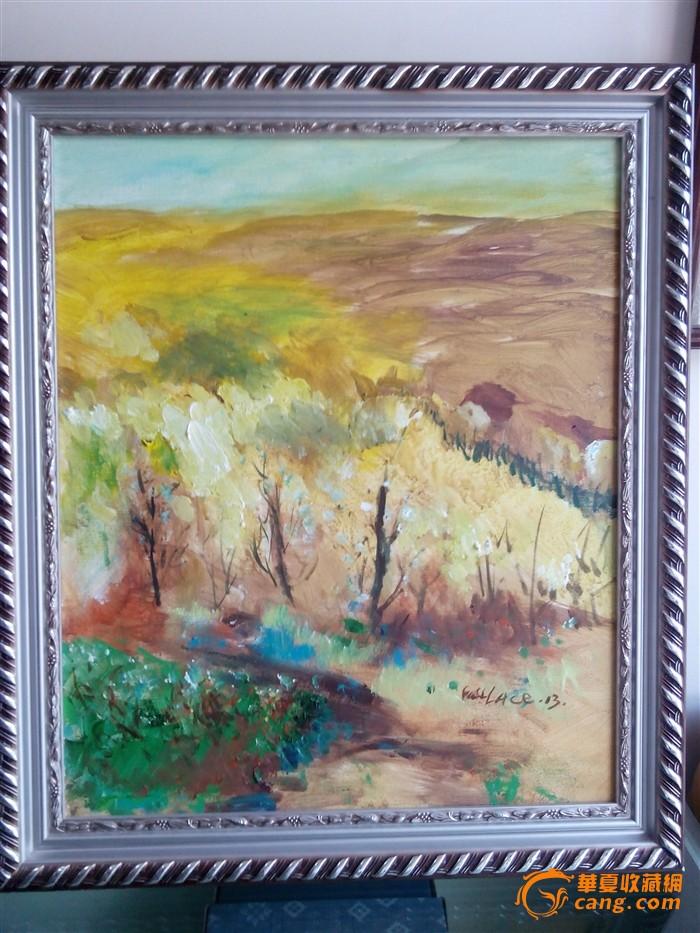 油画 意向风景