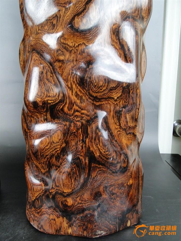 黄花梨 花架 原木 花纹一流 特价销售