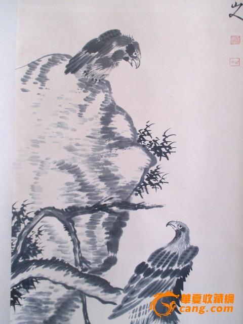 八大山人.鹰图片