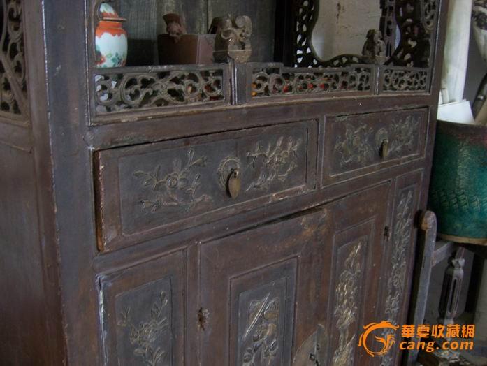 清代雕花柜子图片