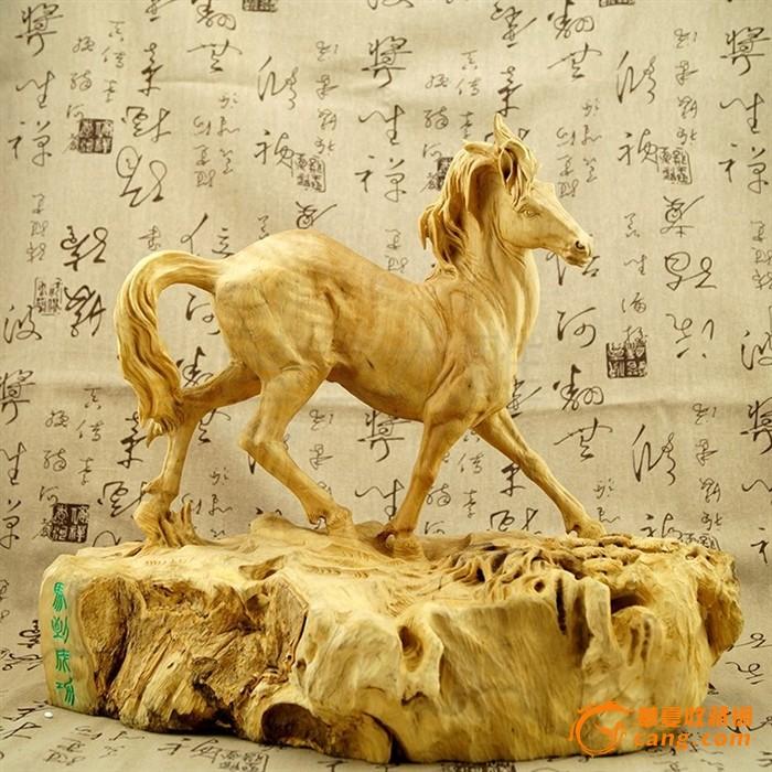 精品黄杨木雕居家装饰摆件大师收藏商务礼品动物生肖