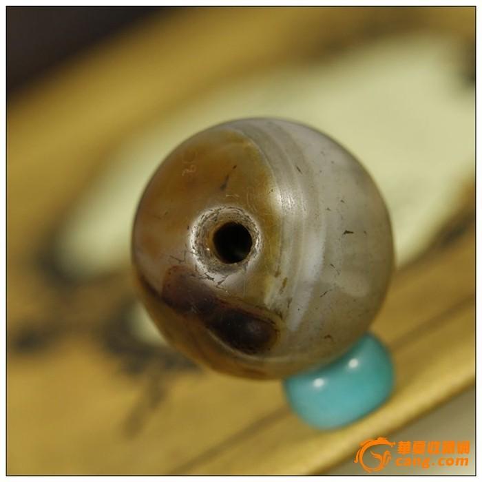 谢绝议价美品包真包老明清老玛瑙珠子直径18.03mmp49